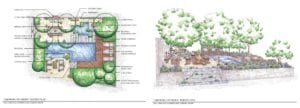 12 GROWING UP GREEN Plan and Perspective