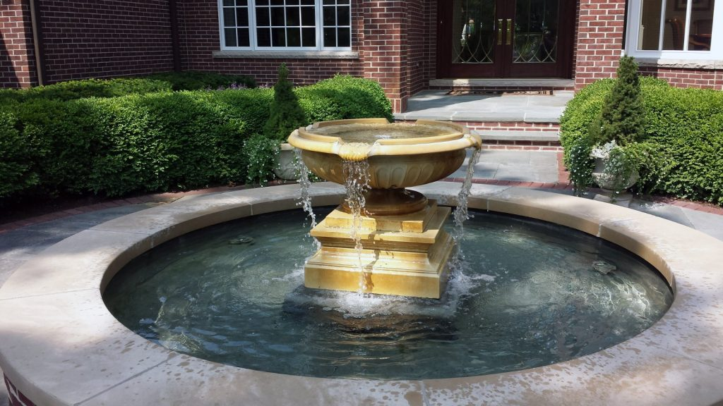 Front Courtyard Fountain