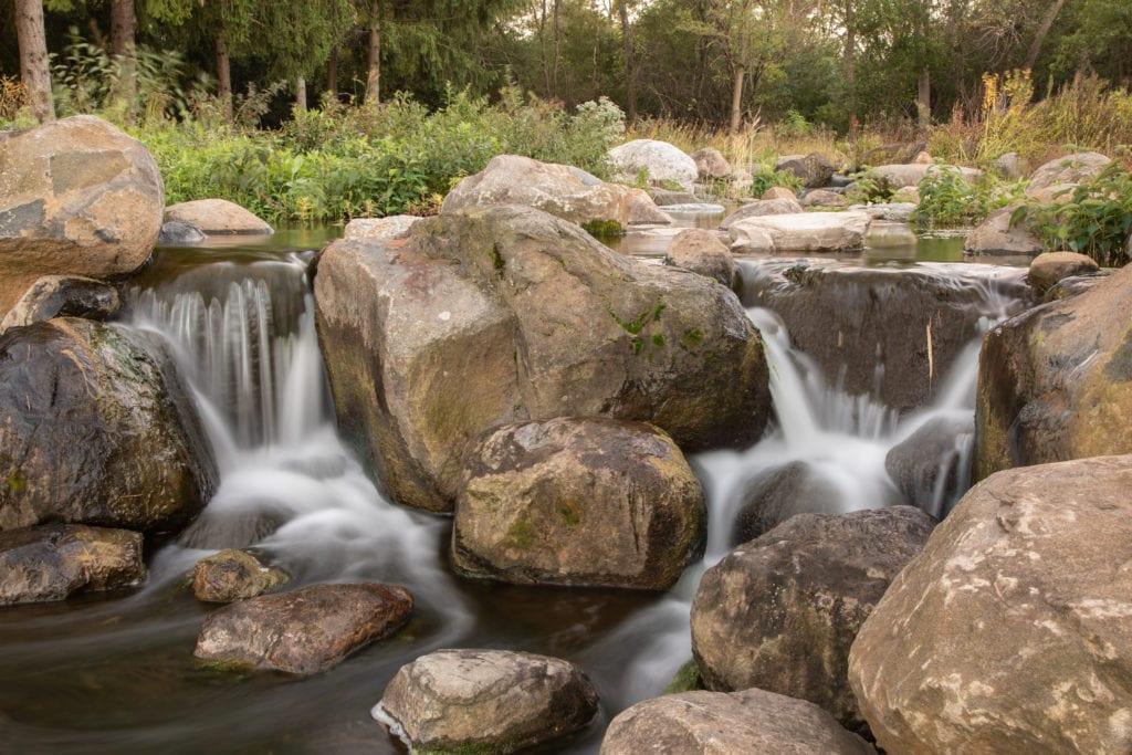 Reflections Waterfall