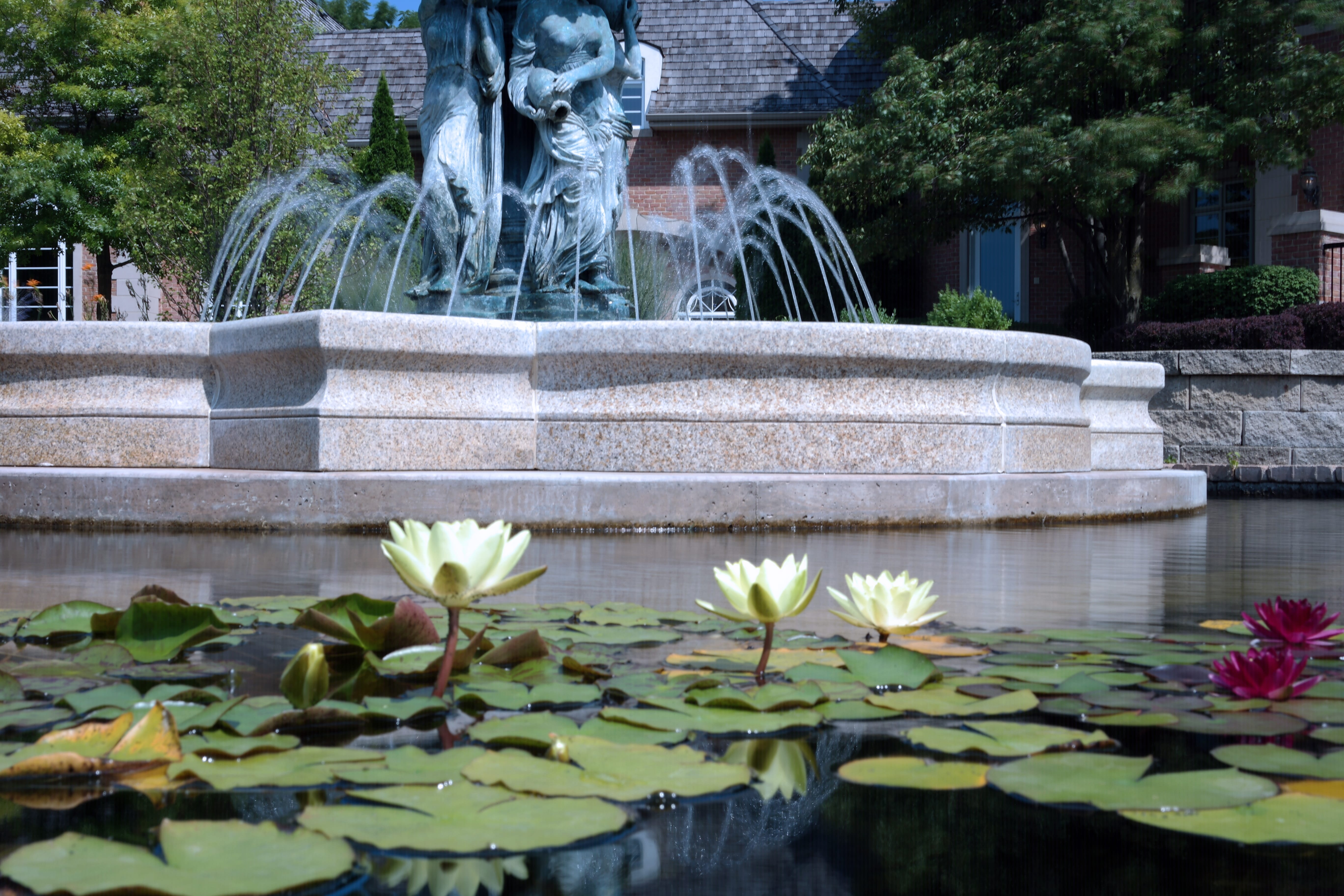 Formal Fountain and Pond