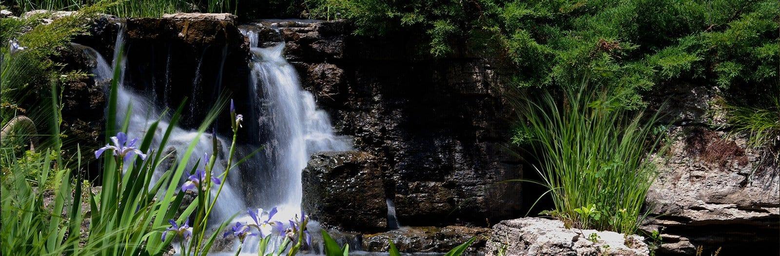 Waterfall banner